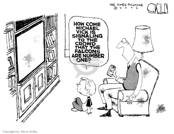 Cartoonist Steve Kelley  Steve Kelley's Editorial Cartoons 2006-11-28 player