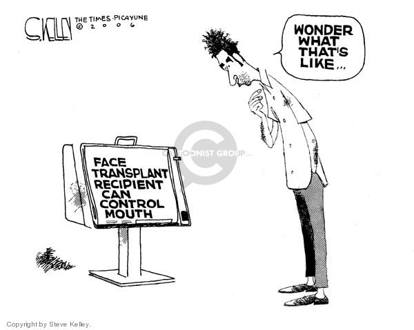 Steve Kelley  Steve Kelley's Editorial Cartoons 2006-12-01 racism