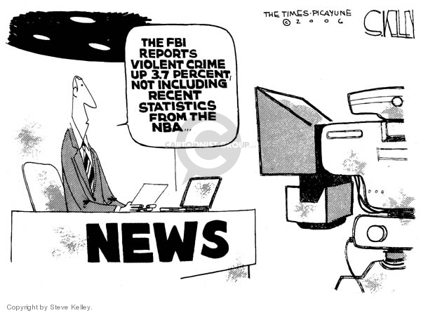 Steve Kelley  Steve Kelley's Editorial Cartoons 2006-12-19 statistic