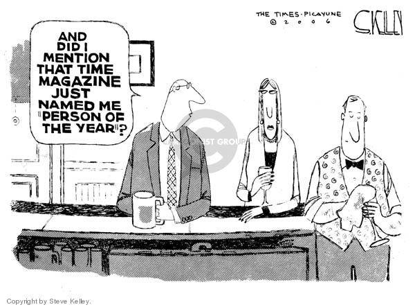 Steve Kelley  Steve Kelley's Editorial Cartoons 2006-12-20 person