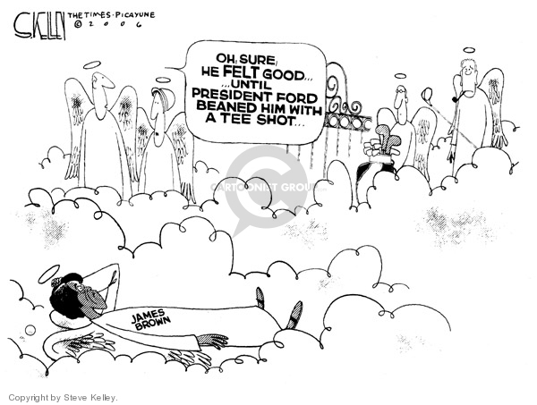 Cartoonist Steve Kelley  Steve Kelley's Editorial Cartoons 2006-12-28 singer