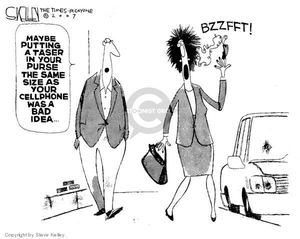 Cartoonist Steve Kelley  Steve Kelley's Editorial Cartoons 2007-01-09 cell