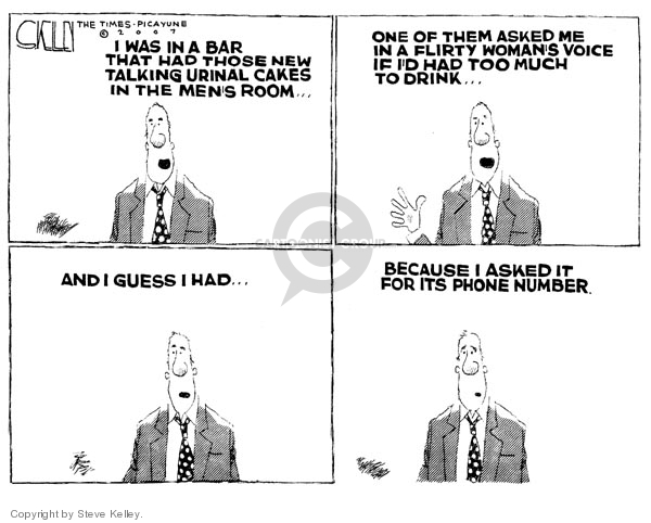 Cartoonist Steve Kelley  Steve Kelley's Editorial Cartoons 2007-02-16 drive