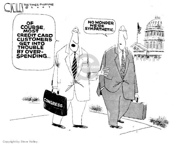 Steve Kelley  Steve Kelley's Editorial Cartoons 2007-03-09 federal budget