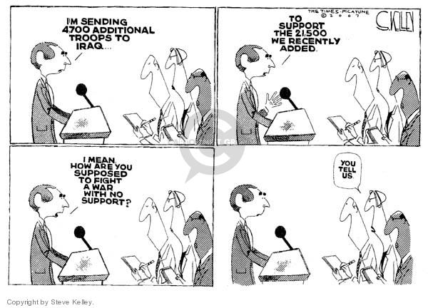 Steve Kelley  Steve Kelley's Editorial Cartoons 2007-03-14 number
