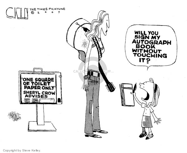 Steve Kelley  Steve Kelley's Editorial Cartoons 2007-04-26 environment