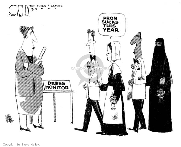 Cartoonist Steve Kelley  Steve Kelley's Editorial Cartoons 2007-04-27 year
