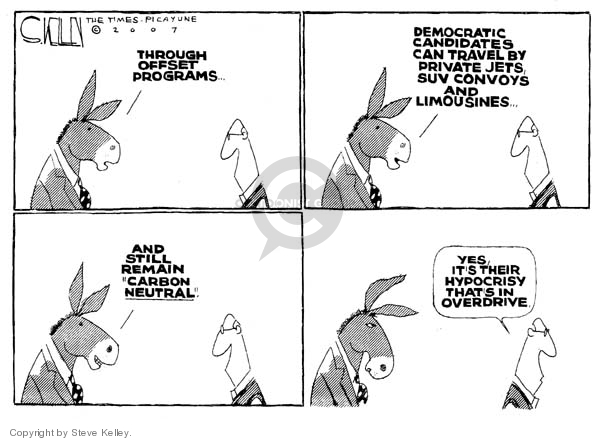 Steve Kelley  Steve Kelley's Editorial Cartoons 2007-05-01 environment