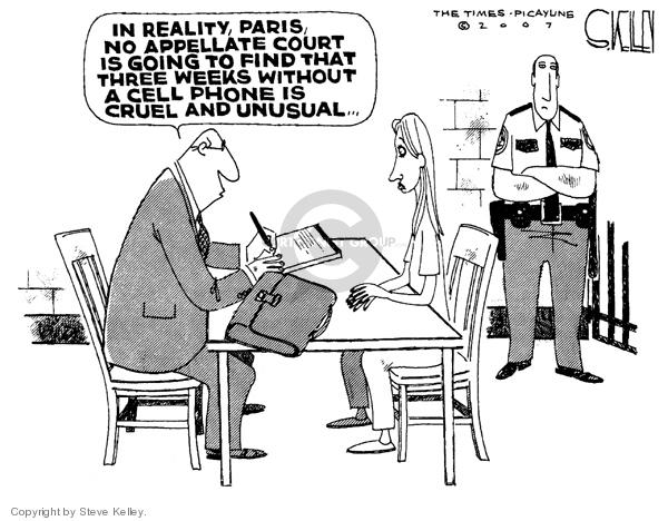 Cartoonist Steve Kelley  Steve Kelley's Editorial Cartoons 2007-06-06 cellular