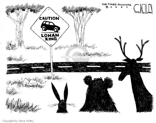 Steve Kelley  Steve Kelley's Editorial Cartoons 2007-07-26 highway