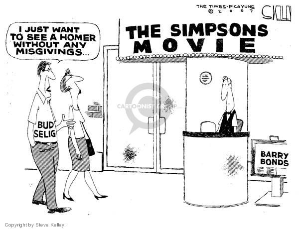 Cartoonist Steve Kelley  Steve Kelley's Editorial Cartoons 2007-07-27 ban