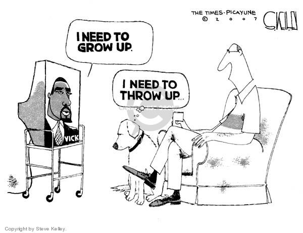 Cartoonist Steve Kelley  Steve Kelley's Editorial Cartoons 2007-08-28 animal