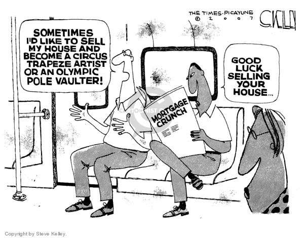 Steve Kelley  Steve Kelley's Editorial Cartoons 2007-09-28 economy