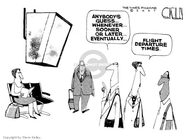 Steve Kelley  Steve Kelley's Editorial Cartoons 2007-10-04 airplane