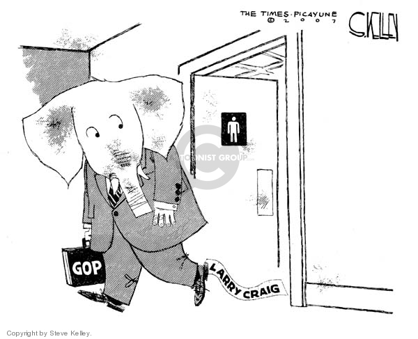 Steve Kelley  Steve Kelley's Editorial Cartoons 2007-10-05 judge