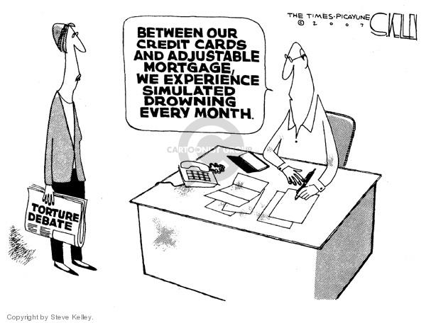 Steve Kelley  Steve Kelley's Editorial Cartoons 2007-11-07 human rights