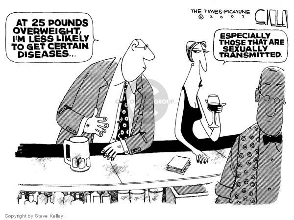 Cartoonist Steve Kelley  Steve Kelley's Editorial Cartoons 2007-11-08 disease