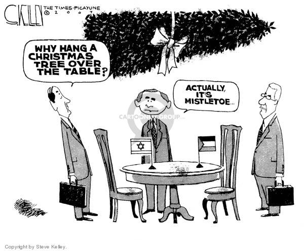 Steve Kelley  Steve Kelley's Editorial Cartoons 2007-11-28 Middle East