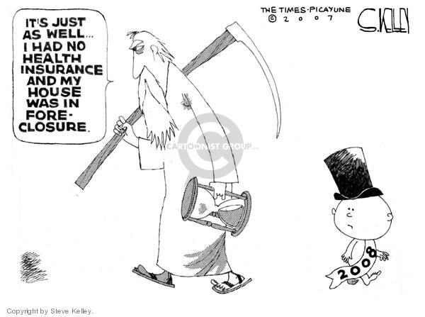 Steve Kelley  Steve Kelley's Editorial Cartoons 2007-12-31 2007