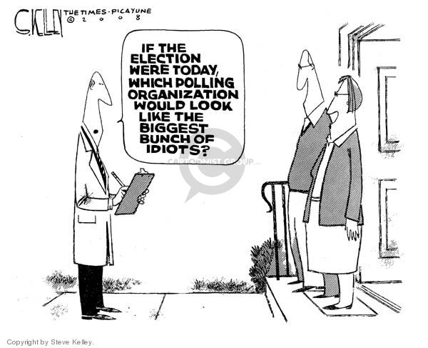 Steve Kelley  Steve Kelley's Editorial Cartoons 2008-01-17 would
