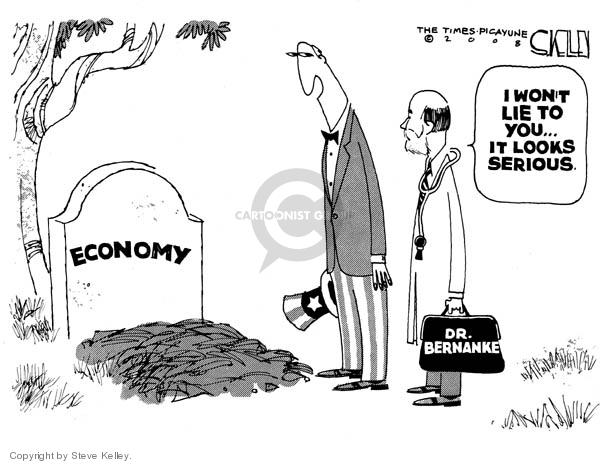 Cartoonist Steve Kelley  Steve Kelley's Editorial Cartoons 2008-04-04 oversight