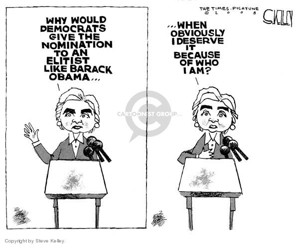 Steve Kelley  Steve Kelley's Editorial Cartoons 2008-04-15 identity