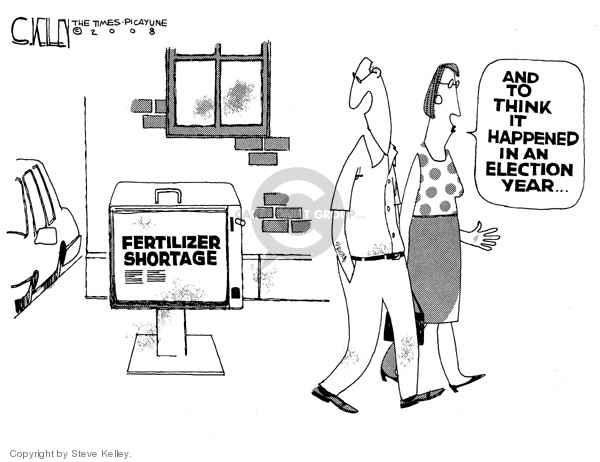 Steve Kelley  Steve Kelley's Editorial Cartoons 2008-05-01 happen