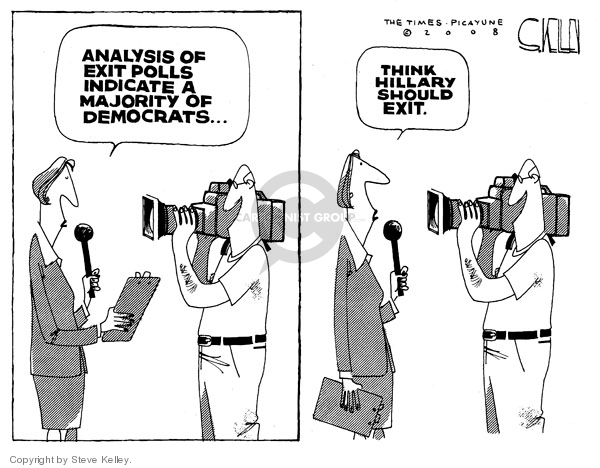 Cartoonist Steve Kelley  Steve Kelley's Editorial Cartoons 2008-05-08 analysis