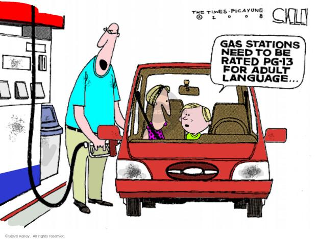 Cartoonist Steve Kelley  Steve Kelley's Editorial Cartoons 2008-05-13 car