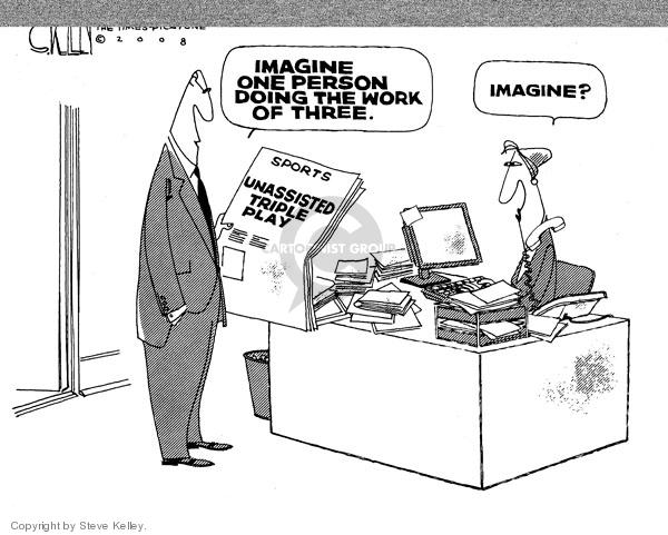 Cartoonist Steve Kelley  Steve Kelley's Editorial Cartoons 2008-05-15 player
