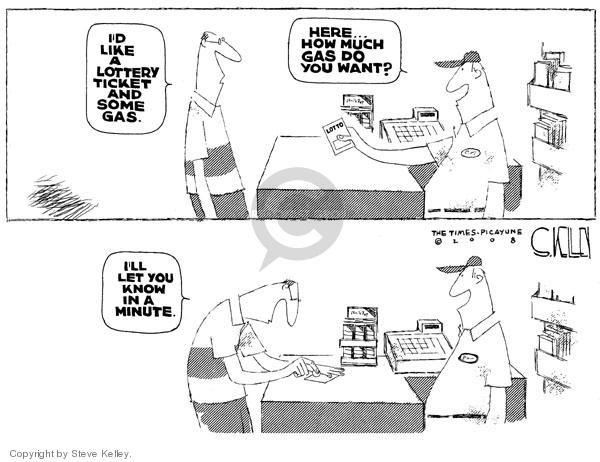 Steve Kelley  Steve Kelley's Editorial Cartoons 2008-05-28 odds