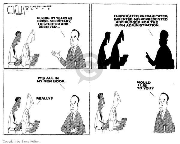 Steve Kelley  Steve Kelley's Editorial Cartoons 2008-05-29 would