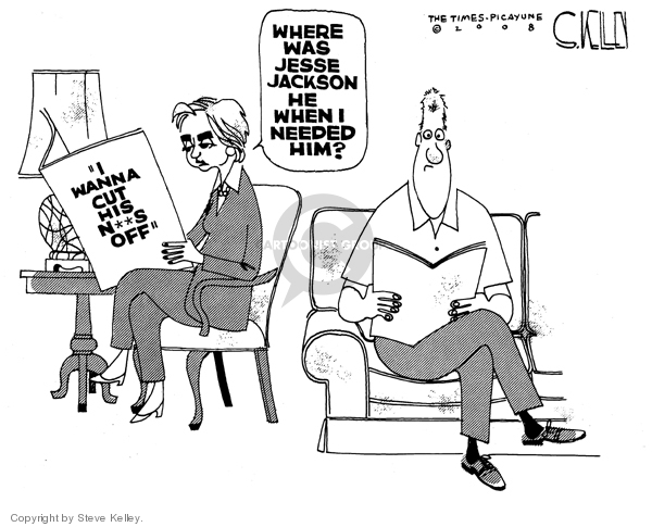 Steve Kelley  Steve Kelley's Editorial Cartoons 2008-07-11 Bill of Rights