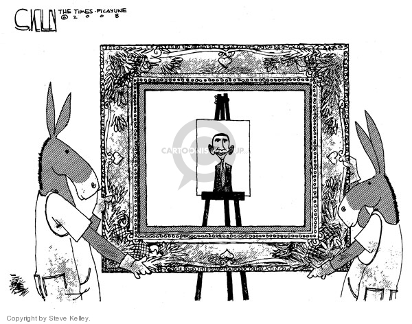 Steve Kelley  Steve Kelley's Editorial Cartoons 2008-08-01 party of no