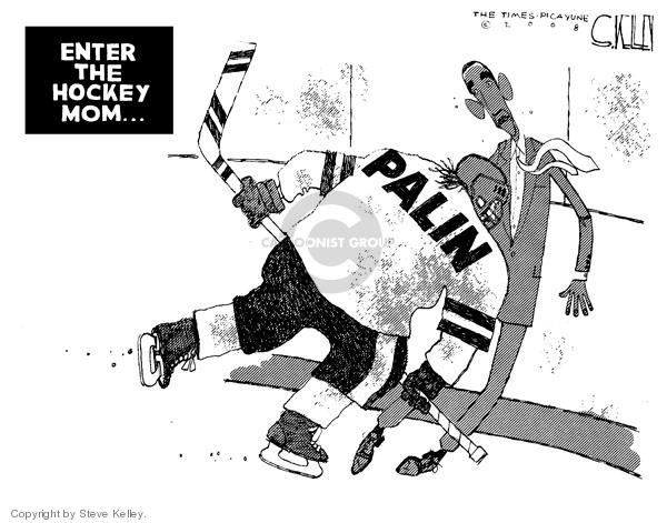 Cartoonist Steve Kelley  Steve Kelley's Editorial Cartoons 2008-09-08 player