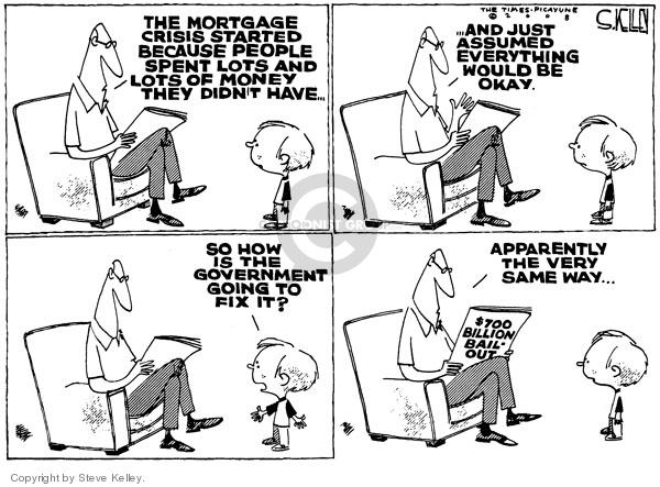 Steve Kelley  Steve Kelley's Editorial Cartoons 2008-09-23 would