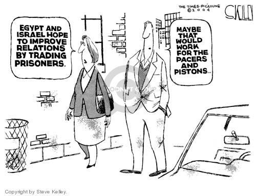Steve Kelley  Steve Kelley's Editorial Cartoons 2004-12-09 prisoner
