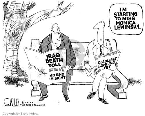 Steve Kelley  Steve Kelley's Editorial Cartoons 2004-12-23 bomb