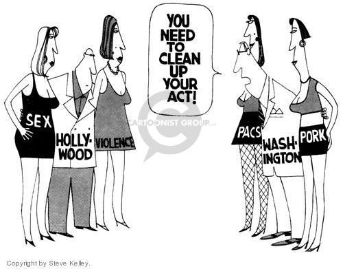 Cartoonist Steve Kelley  Steve Kelley's Editorial Cartoons 1999-01-01 congressional committee