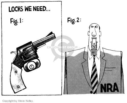 Cartoonist Steve Kelley  Steve Kelley's Editorial Cartoons 1999-01-01 weapon