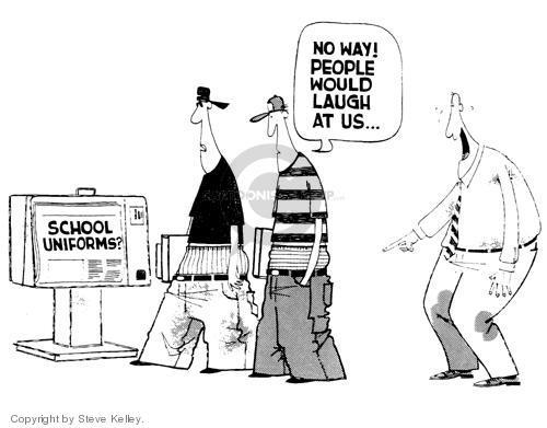 Cartoonist Steve Kelley  Steve Kelley's Editorial Cartoons 1999-01-01 generational