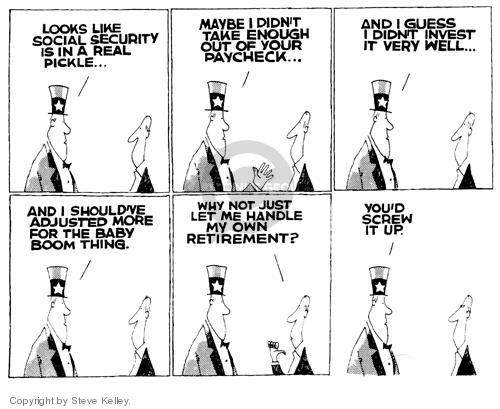 Steve Kelley  Steve Kelley's Editorial Cartoons 1999-01-01 Sam