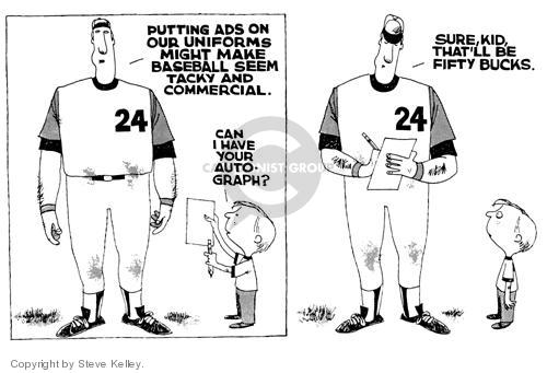 Cartoonist Steve Kelley  Steve Kelley's Editorial Cartoons 1999-01-01 athlete