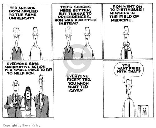 Steve Kelley  Steve Kelley's Editorial Cartoons 1999-01-01 ethnicity