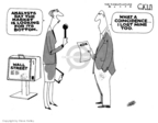 Cartoonist Steve Kelley  Steve Kelley's Editorial Cartoons 2008-10-30 wall