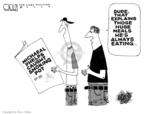 Cartoonist Steve Kelley  Steve Kelley's Editorial Cartoons 2009-02-03 catch