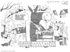 Cartoonist Steve Kelley  Steve Kelley's Editorial Cartoons 2009-02-25 Mardi Gras
