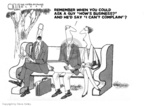 Cartoonist Steve Kelley  Steve Kelley's Editorial Cartoons 2009-03-11 business