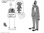 Steve Kelley  Steve Kelley's Editorial Cartoons 2009-07-10 Mitch McConnell
