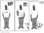 Cartoonist Steve Kelley  Steve Kelley's Editorial Cartoons 2009-07-29 animal cruelty